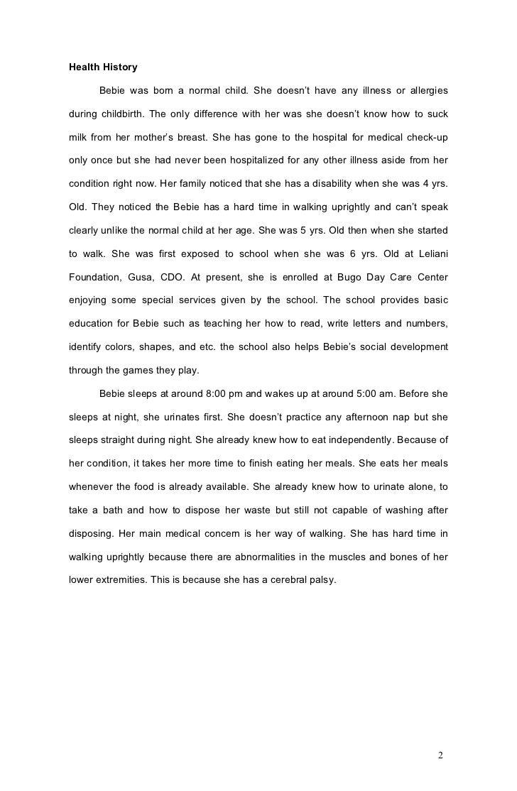 Assessment report writing
