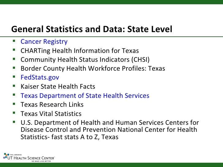 Module 3: Oral Health Data Tools and Statistics