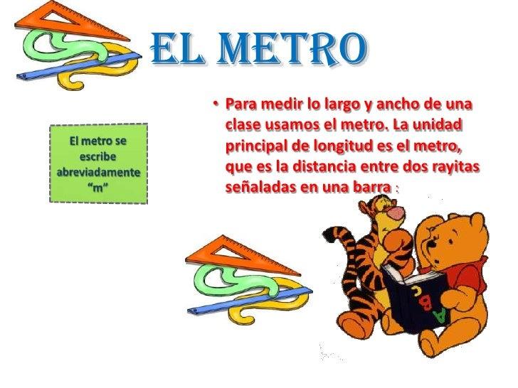 Unidades de medida - Metro para medir ...
