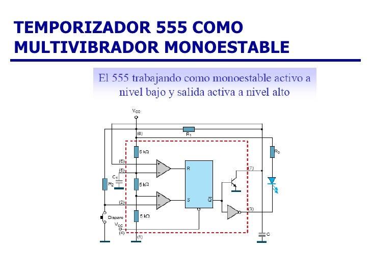 Circuito Monoestable 555 : Marlon
