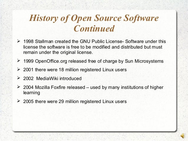 open source research paper Open source research community online papers - download as pdf file (pdf), text file (txt) or read online.