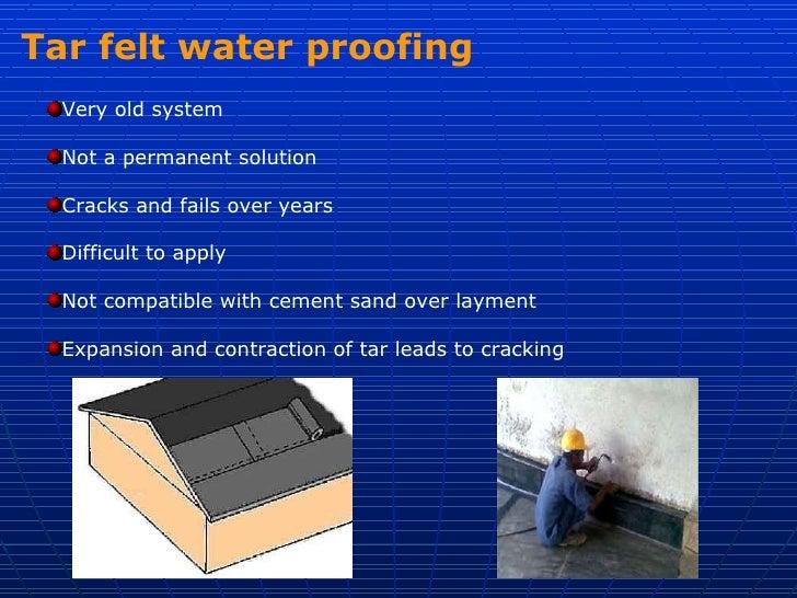 Brick bat coba waterproofing