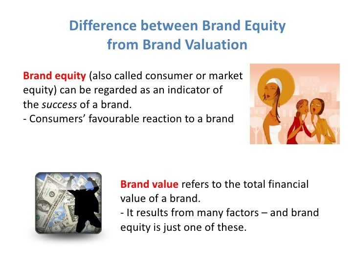 difference between branding and brand equity essay Quiz – week 4 marketing question 1 explain the difference between brand equity, brand awareness, and brand image choose one product and explain how each of the terms relate to that brand.
