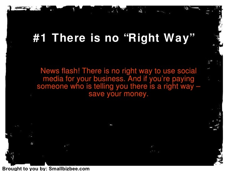 10 Things Mom Never Told You About Social Media For Business