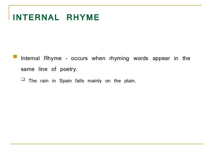 Rhyme Definition For Kids