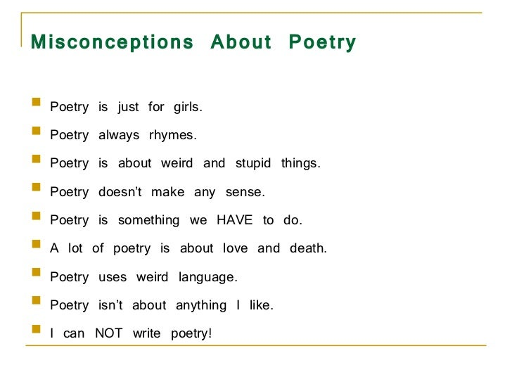Poetry PowerPoint – Elements of Poetry Worksheet