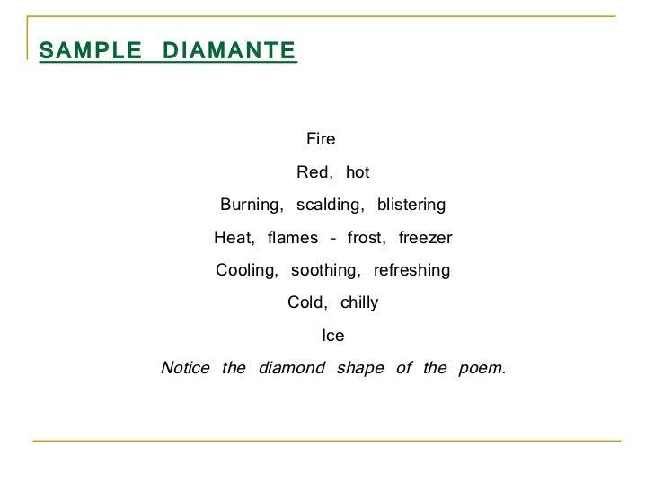 Famous Diamante Poems 2