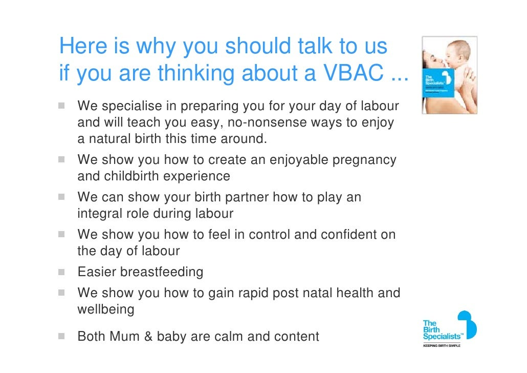 Can You Have A Natural Birth After Ac Section