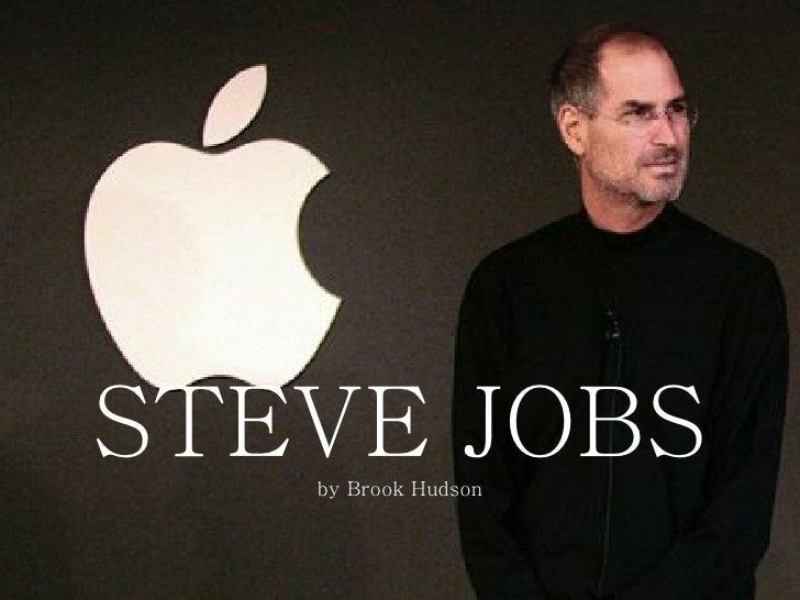 STEVE JOBS by Brook Hudson