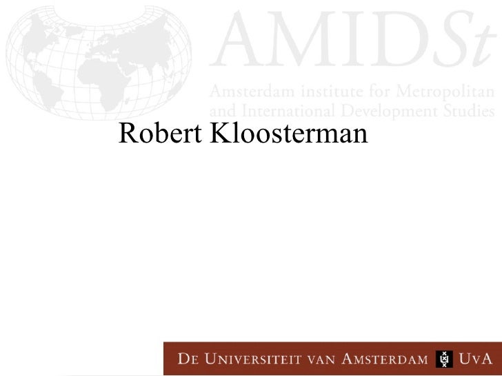 Robert Kloosterman