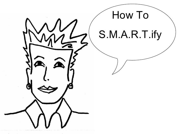 How To S.M.A.R.T.ify