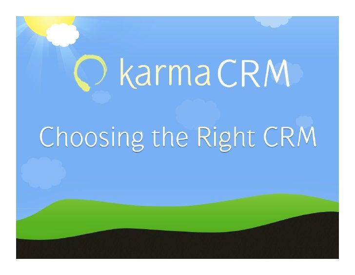 Who  Am  I?   • Entrepreneur   • Co-‐founder  of  MetaSpring.com    • Creator  of  KarmaCRM    • ...