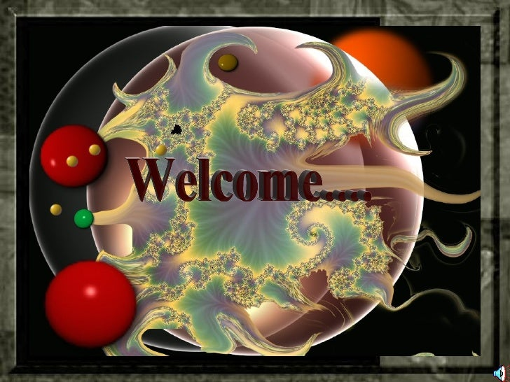 Welcome....