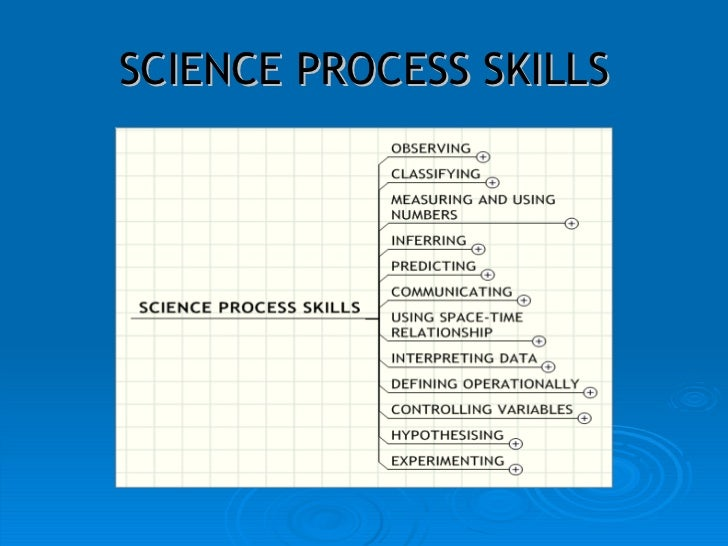 thesis on science process skills