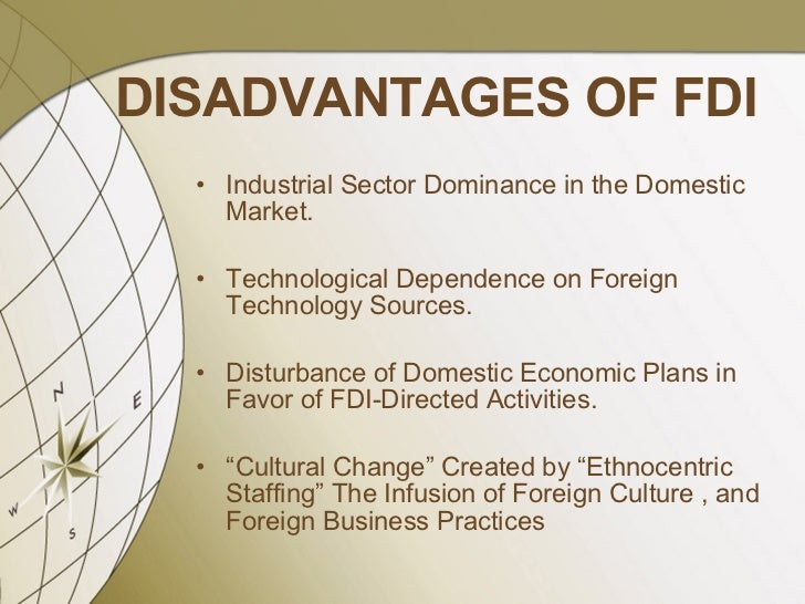advantages of fdi in retail in Fdi in india advantages and disadvantages overview first of all advantages of fdi in retail in india by mt uva bms on february 15.