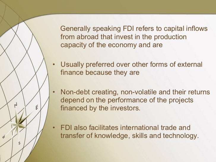 foreign direct investment in