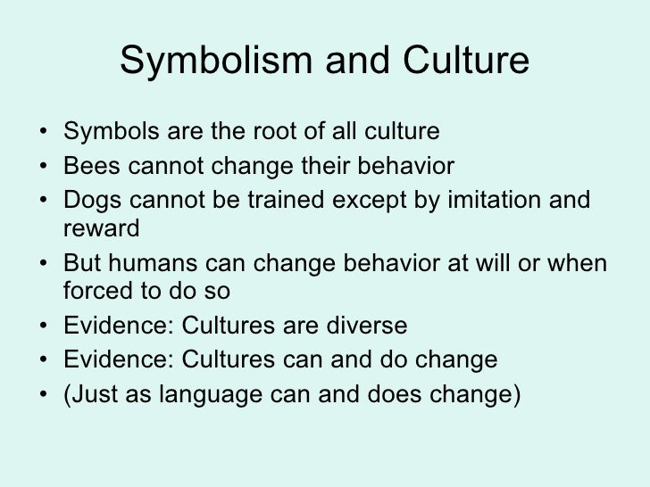 Defining culture 18 symbolism and culture malvernweather Images