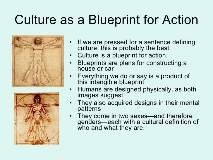 Defining culture 6 culture as a blueprint malvernweather Choice Image