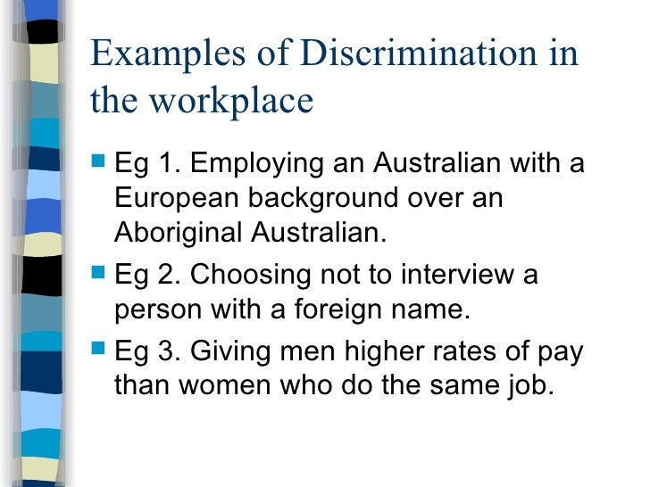 Beautiful Examples Of Discrimination In The Workplace. Anti Discrimination In  Australia . Examples Of Discrimination In The Workplace With Examples Of Discrimination In The Workplace
