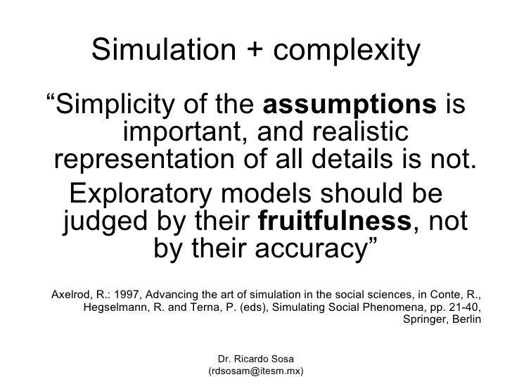 Social Simulation And Visual Insights