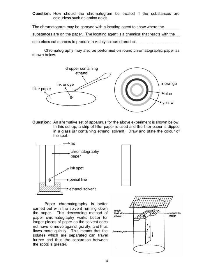 Separation Techniques Revision PDF – Separation Techniques Worksheet