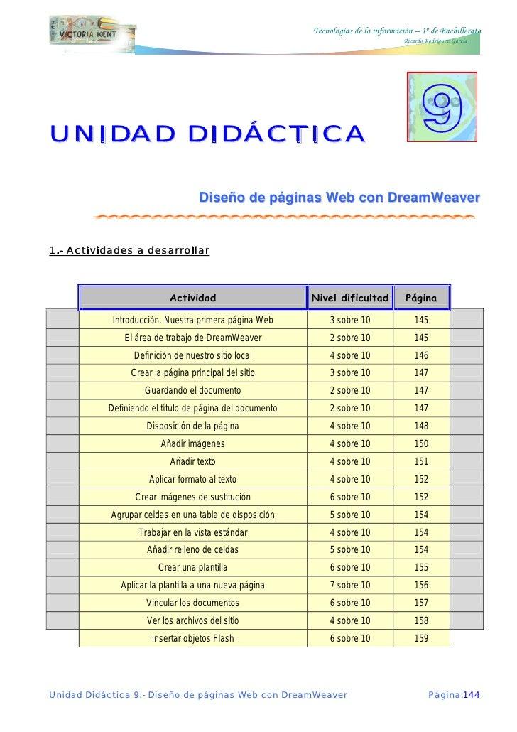 Tecnologías de la información – 1º de Bachillerato                                                                        ...