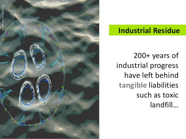200+ years of industrial progress have left behind tangible liabilities such as toxic landfill… Industrial Residue artwork...