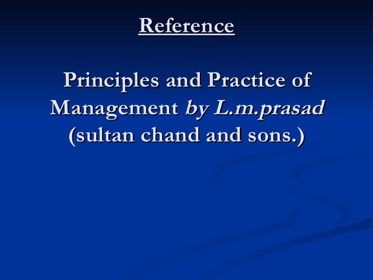 lm prasad principles and practice of management pdf free