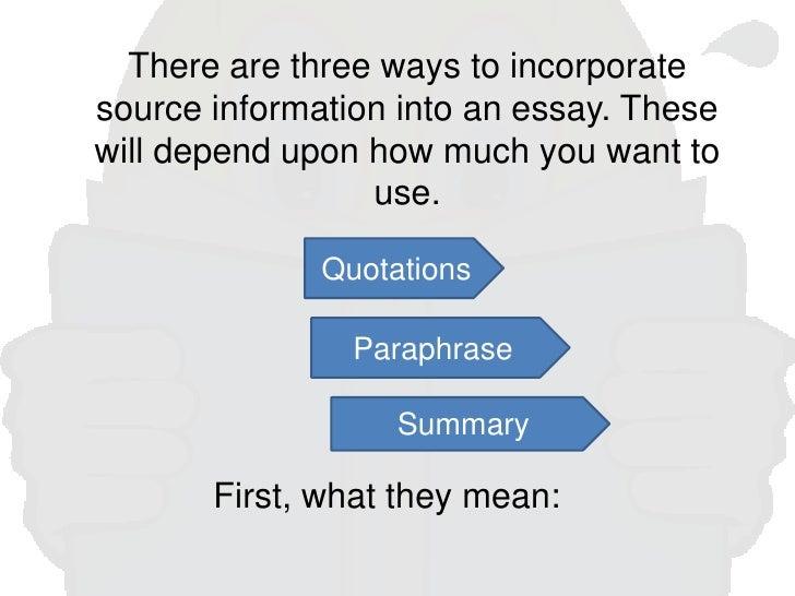paraphrases in essays Paraphrases in essays are movies fundacja jest organizacją non-profit, której podstawowym celem statutowym jest ochrona krajobrazu kulturowego i dbanie o.