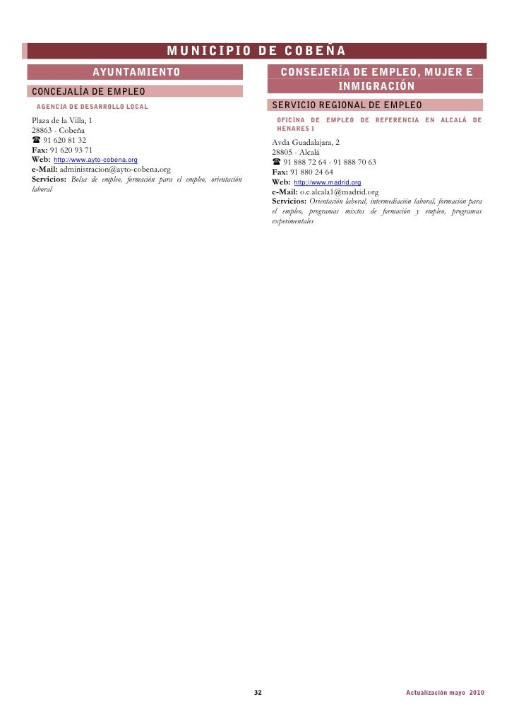 C documents and settingsstandardmis documentosdescargasdirectori - Oficina de empleo valdemoro ...