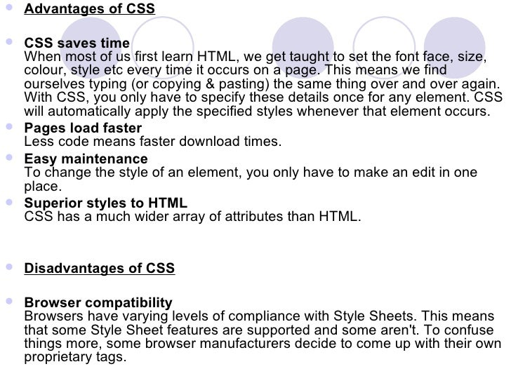 cascading style sheet ppt