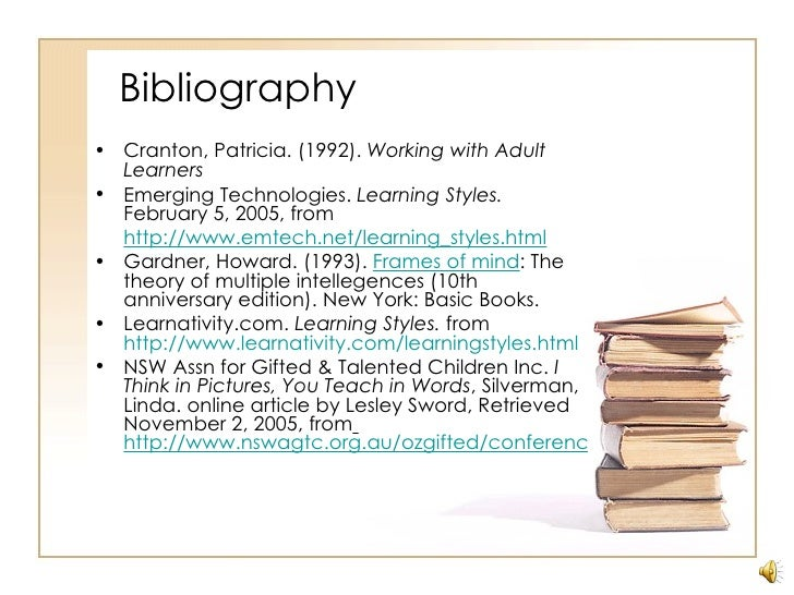 whats a bibliography