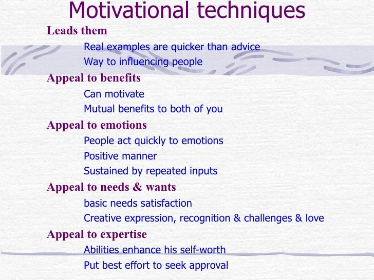 people motivated achieve personal satisfaction rather than A person with a strong implicit drive will feel pleasure from achieving a goal in the  most  however, the explicit motives are built around a person's self-image   motivation theories are in concordance with one another instead of competing.