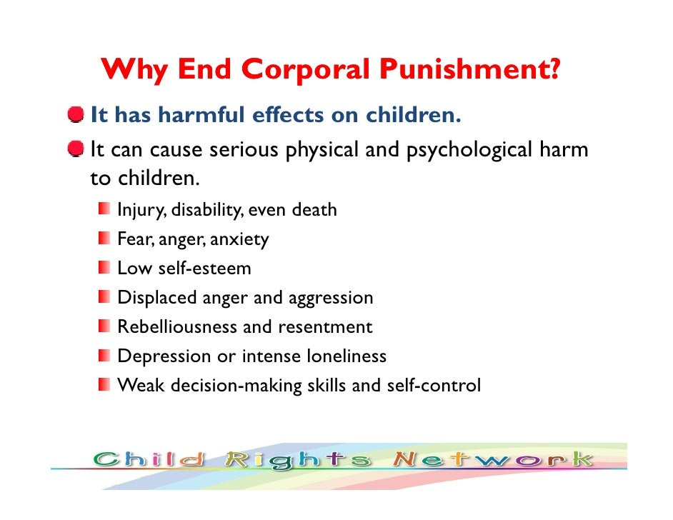 corporal punishment should abolished schools essay Numerous caretakers argue that corporal punishment should not be abolished as rebellious behaviors have increased amongst generations essay sample written.