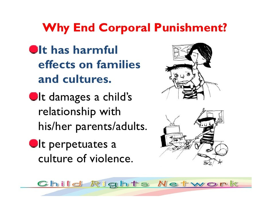 positive effects of corporal punishment essays