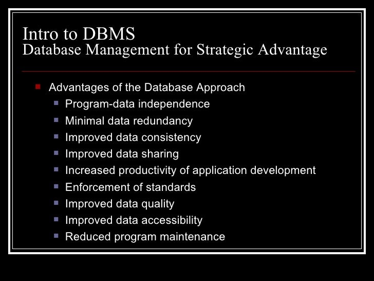 data base management system Database management systems (dbms) app is a part of computer science which covers most important topics in simple english and diagrams for a.