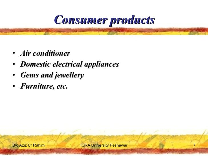 Consumer buying behaviour towards air conditioners