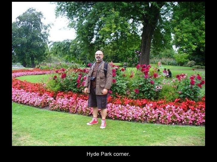 Hyde Park corner.