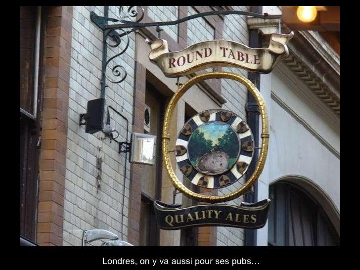 Londres, on y va aussi pour ses pubs…