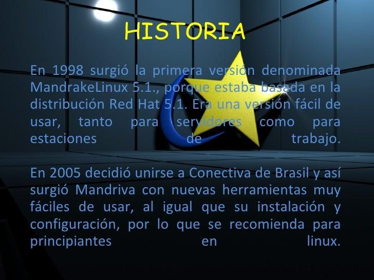 Linux Mandriva Slide 2