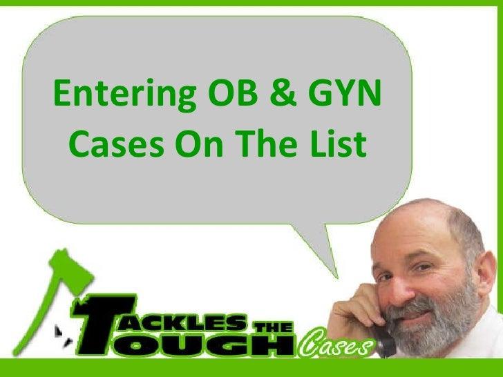 Ob Gyn Oral Board Exam 78