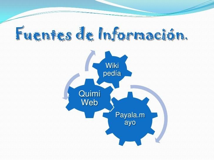 Fuentes de Información.<br />