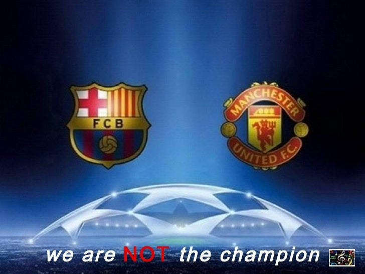 we are   NOT   the champion