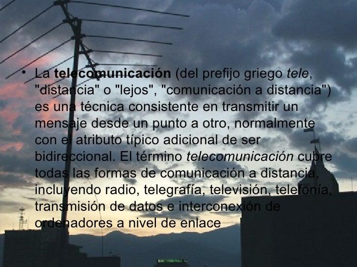 telecomunicacion  Slide 3