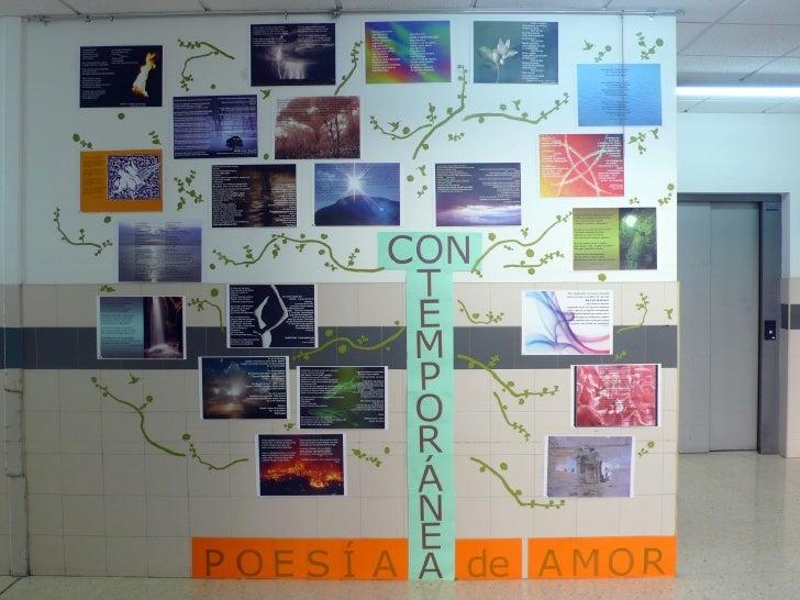 Poesía Contemporánea Slide 1