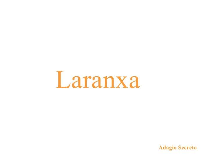 Laranxa Adagio Secreto