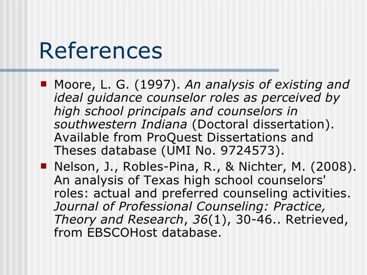 Proquest dissertations and theses 2008