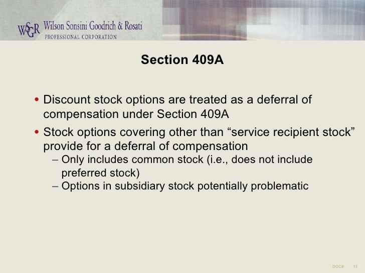 Nonstatutory stock options w2