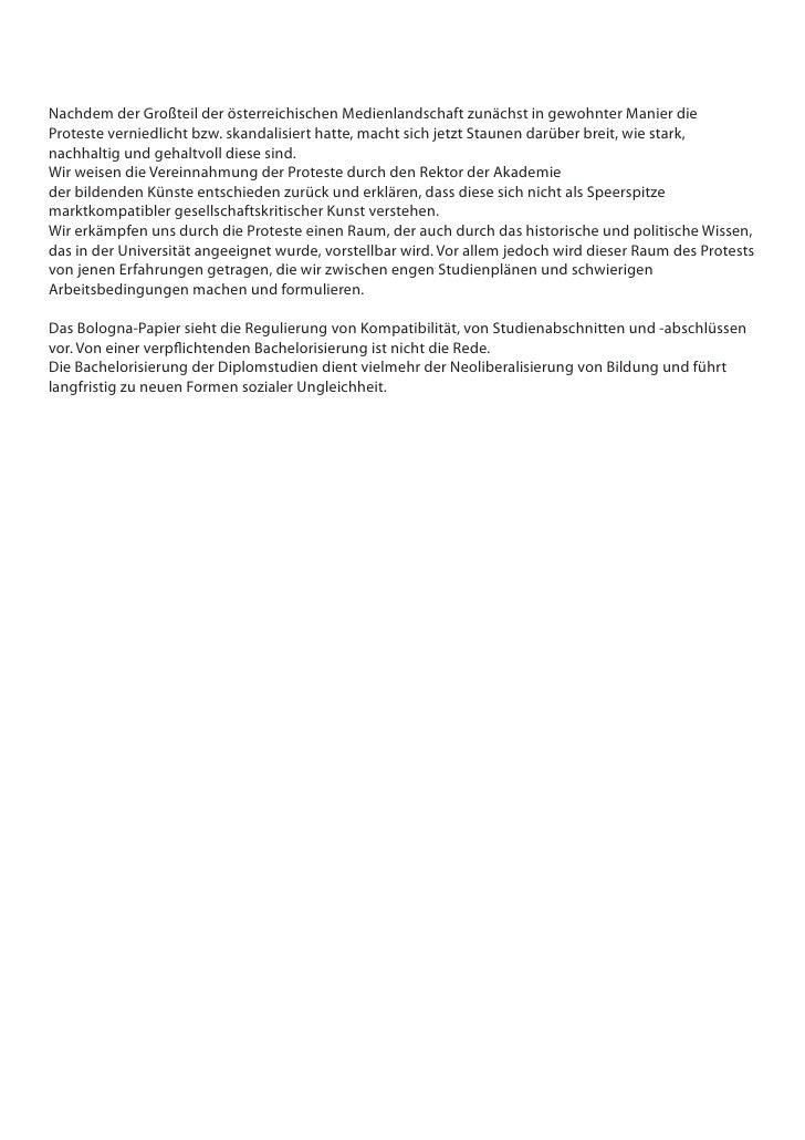 Nachdem der Großteil der österreichischen Medienlandschaft zunächst in gewohnter Manier die Proteste verniedlicht bzw. ska...