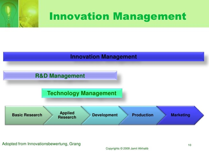 bayer management of innovation and technology We are a 153-year-old company rooted in innovation and continuously bringing new products to market and highly innovative technology in life sciences while we are always investing in our in-house r&d, we recognize that there are technologies and innovations coming to life outside of bayer as well.